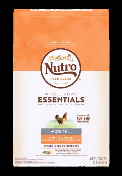 全護營養系列-高齡犬配方(農場鮮雞+糙米、地瓜)