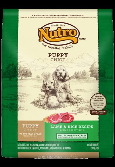 幼犬配方(羊肉+米)