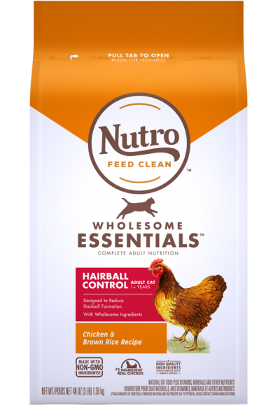 全護營養系列-成貓有效化毛配方(農場鮮雞+糙米)