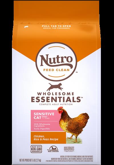 全護營養系列-成貓敏感腸胃配方(農場鮮雞+健康米+豌豆)
